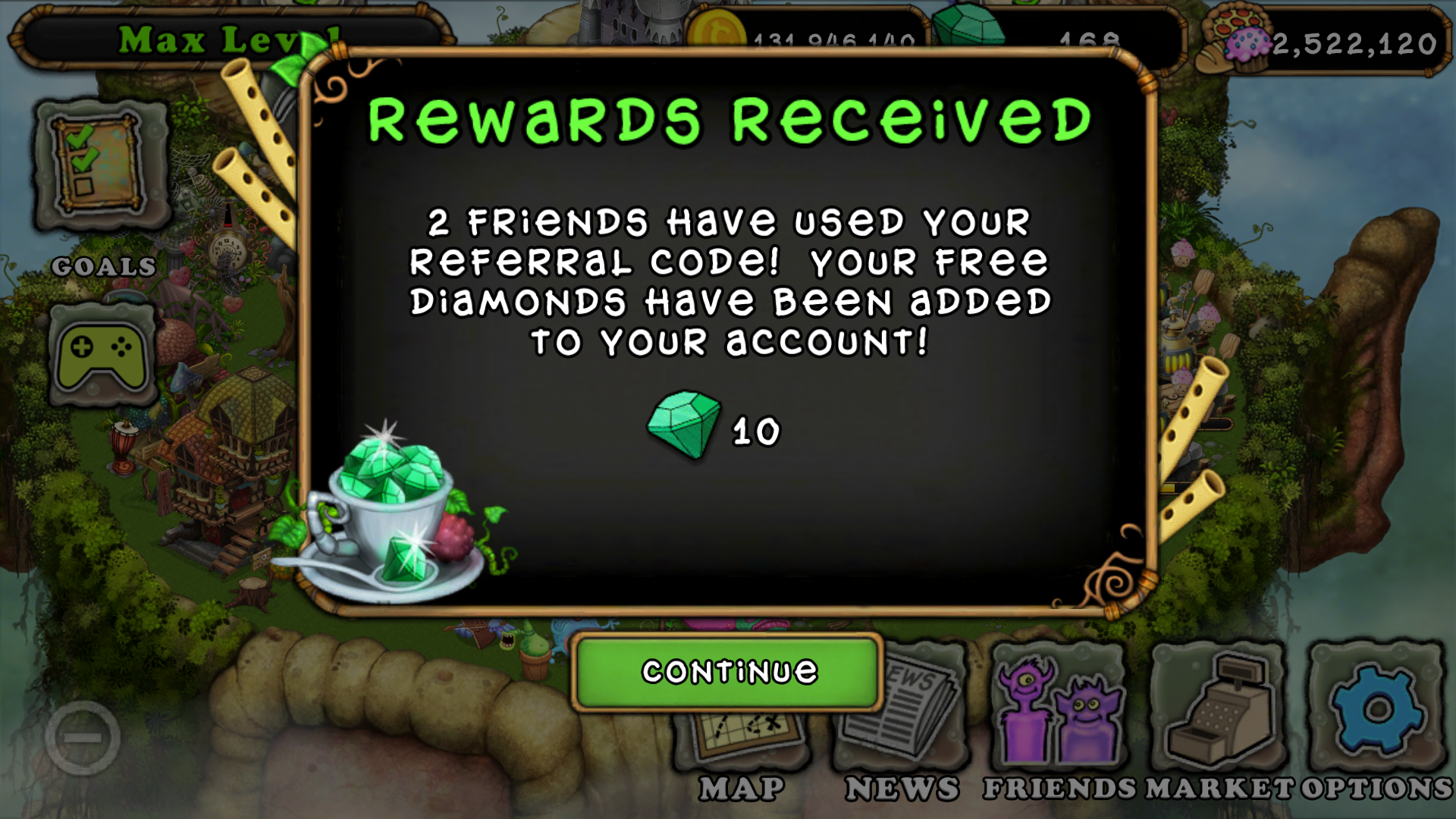 1920 x 1080 · 2069 kB · png, My Singing Monsters Friend Codes source
