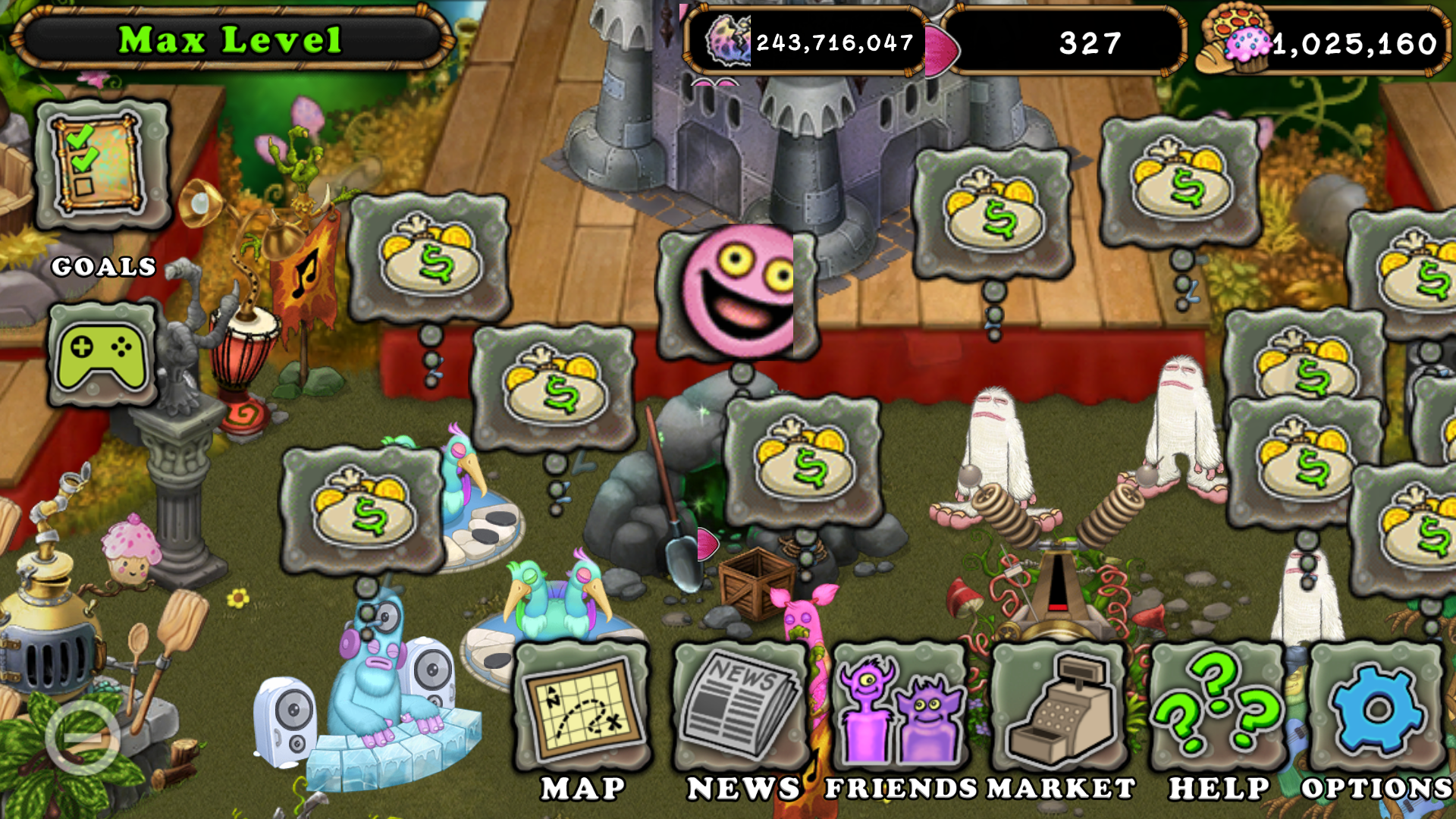 Something is wrong - My Singing Monsters Guide